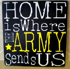 #1 is the Army for us right now.  My husband loves what he does, he loves his job and we go where ever they send us!  AND Scentsy is like this for me... I love my Job and I love what I do!