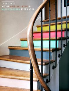 Eight Colourful Staircase Design & Diy Ideas With Brilliant Ideas DIY Staircase Interior With Best Decoration And Amazing Design