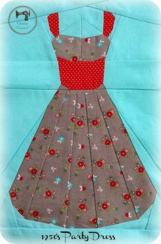 Charise Creates: Party Dress Fabric: Little Red Riding Hood by Tasha Noel for Riley Blake Designs #littleredridinghood #tashanoel #rileyblakedesigns