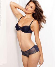 Lizzy Barter for Macys lingerie lookbook (Summer 2013) photo shoot