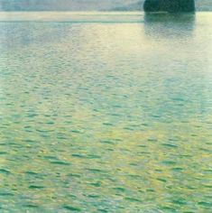 Gustav Klimt:  Island in the Attersee