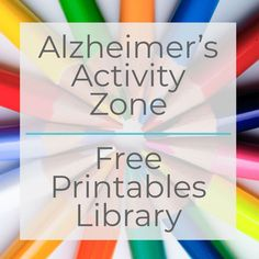 The Layman's Guide To Alzheimer's Disease – Elderly Care Tips Activities For Dementia Patients, Dementia Crafts, Alzheimers Activities, Elderly Activities, Dementia Care, Alzheimer's And Dementia, Work Activities, Dementia Quotes, Music Therapy Activities