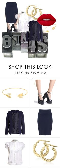 """""""It's Just Business"""" by distinctivelygiftedladyt on Polyvore featuring Lord & Taylor, Zizzi, Pilot and Lime Crime"""