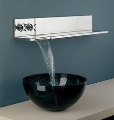 Explore the Best Modern and Contemporary Sink Faucet Design Ideas at The Architecture Design. Visit for images and ideas about Contemporary Sink Faucet. Contemporary Bathroom Faucets, Bathroom Sink Faucets, Bathroom Fixtures, Sinks, Concrete Bathroom, Bathroom Mirrors, Home Design, Modern Design, Design Ideas