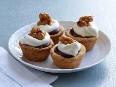 Get this all-star, easy-to-follow Derby Tartlets recipe from Food Network Kitchen