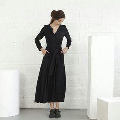 Summer Sale Winter Maxi dress - Black https://www.etsy.com/listing/113371339/summer-sale-winter-maxi-dress-black