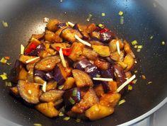 חיים וטעים – אוכל ובריאות | חציל מקורמל בסגנון סיני
