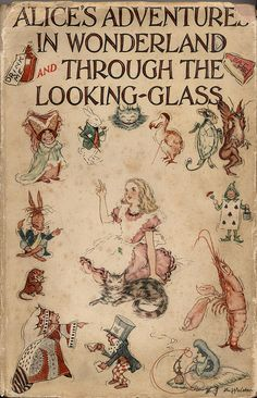 Alice's Adventures in Wonderland and Through the Looking Glass by Lewis Carroll.  #reading #books #alice