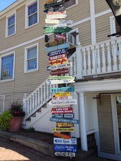 Kennebuckport, Maine  Quaint, beautiful village. Great shopping and restaurants.