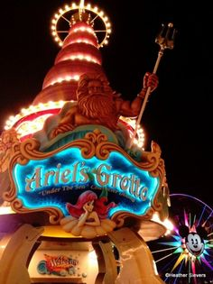 DINE AT ARIEL'S GROTTO ~ DONE <3