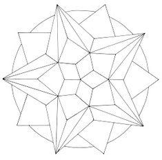 Afbeeldingsresultaat voor how to design mandala Geometric Star, Geometric Drawing, Geometric Mandala, Mandala Drawing, Geometric Designs, Mandala Art, Geometric Shapes, Mandala Design, Mandala Pattern