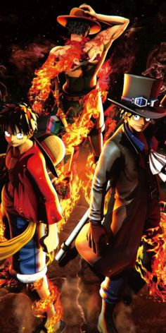 One Piece Wallpaper Anime Fantasy Wallpaper Collection And Photo Collections By WaoFam Sabo One Piece, One Piece Figure, One Piece Luffy, One Piece Wallpaper Iphone, Anime Wallpaper Live, News Wallpaper, Naruto, Ace Sabo Luffy, Black Clover Manga