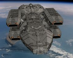 battstar galactica warstar. Can I get this as my Flagship? With Halo, Starcraft, Stargate, Andromeda, and Star Trek technology mixed in that would be one hell of a badass ship!