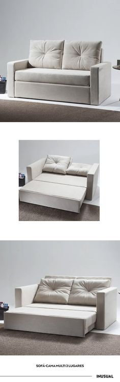 Sofá-cama Multi 2 Lugares - Inusual - Smart Decor