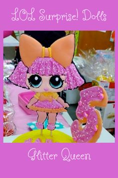 LOL Surprise! Dolls   Glitter Queen   made with royal icing  