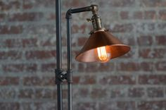 Image result for copper shade industrial lamp