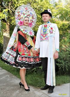 Slovak folk costume from Vojvodina - Serbia,