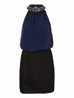NEW PURITY GLITTER HALTERNECK DRESS VERO MODA  #veromoda #dress #party #glitter #fashion @Veronica MODA
