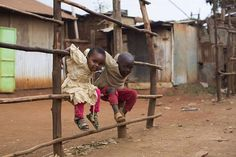 "Tell us about your kids. A Kenyan mom in Nairobi told Stanton that her two kids are always dancing together, and they love to ""do the funniest things"" like ""pretending to cook."" When Stanton asked what she worries about, she said: ""Their health. They're always getting sick from the cold and the dust. Sometimes the dust gets so bad, they lose their voices."""