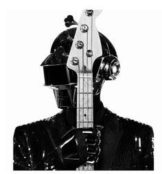 Daft Punk in Yves Saint Laurent #inspiration #music #love #fashion #daft #punk #daftpunk #yvessaintlaurent
