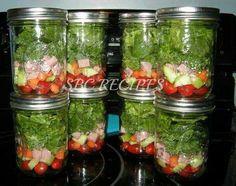 Sald in a jar