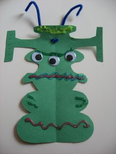 Name Alien Craft — Blog: Art Activities & Fun Crafts Project Ideas for Kids — FamilyEducation.com