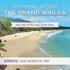 Who wants to go with me?   #trip #incentive #hawaii #maui #brandisjams #prettynails #wahm #sahm #wfhm #whynot #opportunity #joinmyteam #beyourownboss #ownyourownbusiness #rewards #smallbusinessowner
