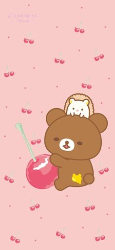 Rilakkuma Wallpaper, Sanrio Wallpaper, Bear Character, Japanese Characters, Cute Japanese, Lock Screen Wallpaper, Pikachu, Hello Kitty, Kawaii