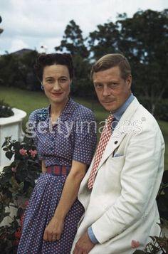 Wallis Simpson and King Edward.