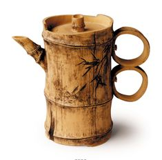 Double-ring Bamboo: original teapot by Lu Wen Xia