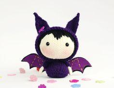 Violet Bat poupée. Jouets de la série de par DenzasToysJoys sur Etsy