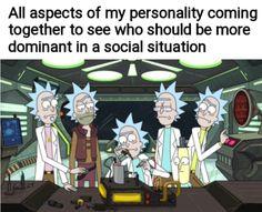 Love Memes, Really Funny Memes, Funny Relatable Memes, Funny Jokes, Funny Stuff, Rick And Morty Poster, Rainbow Six Siege Memes, Jokes Pics, Melting Pot