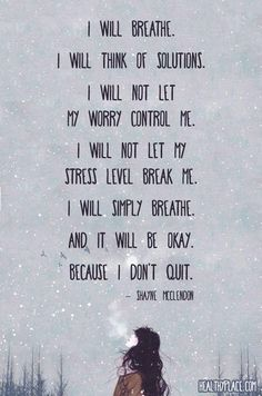 Inspiration : 19 Inspirational Quotes For When Anxiety Feels Overwhelming | YourTango
