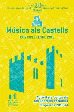 XXIV Cicle Música als Castells 2013 (juliol-setembre)