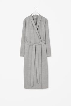 MINIMAL + CLASSIC: Full-length wool coat
