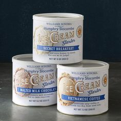 If you love ice cream, buy one of Williams Sonoma's ice cream starters and make your favorite ice cream flavor at home. We also carry all of your favorite toppings and sauces to make the perfect ice cream sundae at home. Best Food Gifts, Gourmet Food Gifts, Chocolate Covered Coffee Beans, Buy Coffee Beans, Chocolate Malt, Chocolate Ice Cream, Ice Cream Toppings, Ice Cream Flavors, Mint Chip Ice Cream