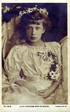Princess Royal Mary, later Vis-countess Lascelles 1897-1965, the 3rd child only daughter of King George V Queen Mary