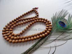 Premium FRAGRANT Sandalwood Tibetan Buddhist by beadsincredible, $84.95