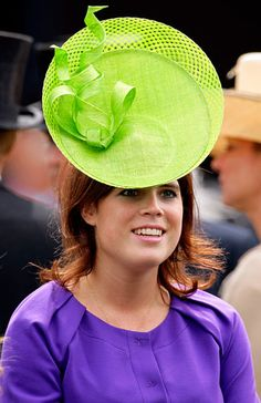 Princess and the Pea  Princess Eugenie's lime topper may seem like a headscratcher, but believe it or not, Royal Ascot's Ladies' Day is when Brits get to show off their most fanciful headwear.