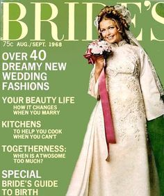 Susan on the cover of Bride's magazine, Aug. Vintage Wedding Photos, Vintage Weddings, Vintage Bridal, Simple Church Wedding, Church Wedding Ceremony, Wedding Party Dresses, Bridal Dresses, 1980s Wedding, Vintage Cake Toppers