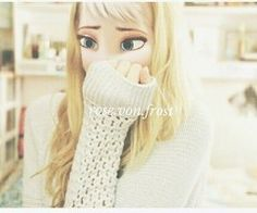 This is Emmalynn she is 15 years old she loves to wear sweaters she is very creative she loves to play with clay