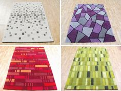 Modern Rugs from Harlequin Rugs