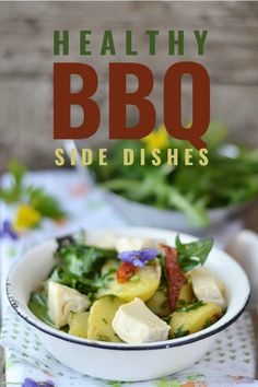 Healthy BBQ Side Dishes Summer is the time for grilling and outdoor parties with friends (hopefully soon? Check out this roundup of delicious healthy/guilt-free BBQ side dishes to prepare for your next cookout! Side Dishes For Bbq, Summer Side Dishes, Healthy Side Dishes, Side Dish Recipes, Easy Dinner Recipes, Frugal Living Nw, Layered Taco Salads, Kabob Recipes, Pasta Recipes