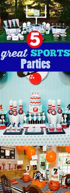 5 Sports Parties ideas