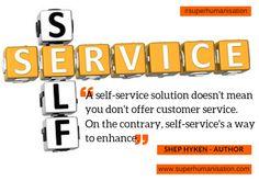 #selfservice   For more info, see bio