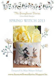 Free Pattern: Spring Witch