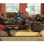 Catnapper - Impulse 2 Piece Power Reclining Sofa Set in Godiva/Spice - 61241-S+L-GODIVA