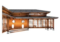 My Oriental Garden | Prefab Modular Japanese Villa, Mansion, Manor, Country House, Residence, House, Home, Style, Lifestyle, Zenkei
