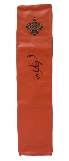 Darren Sproles Autographed New Orleans Saints Full Size Football End Zone Touchdown Pylon, Proof