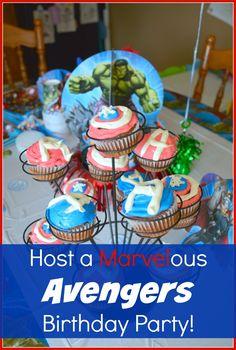 Avenger's Birthday Party Ideas